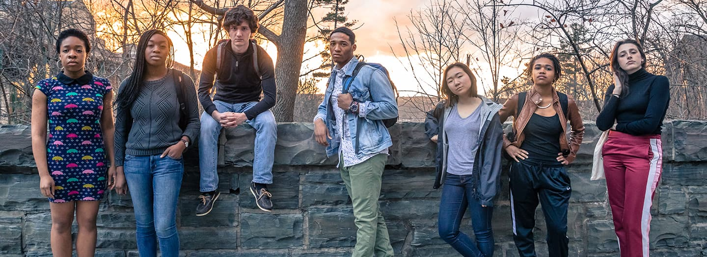 Baltimore cast (photo credit: Adam Baker Photography)