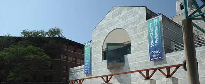Schwartz Center for the Performing Arts ©Thomas Hoebbel