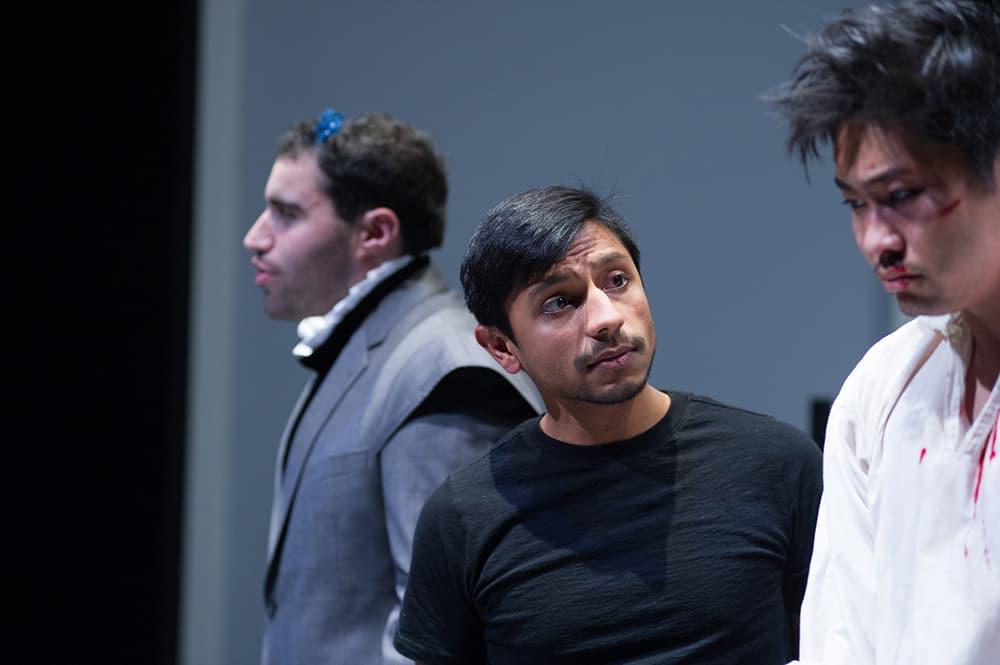 Cast of Hamlet Wakes Up Late ©Rachel Philipson