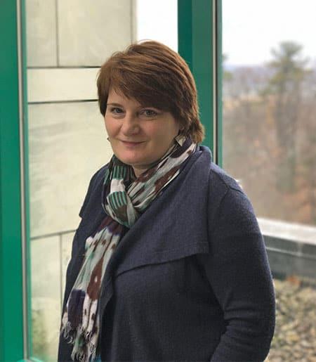 Sabine Haenni at the Schwartz Center