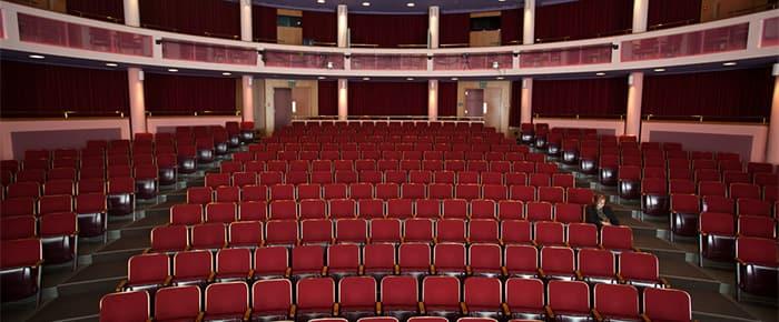 Seats in the Kiplinger Theatre