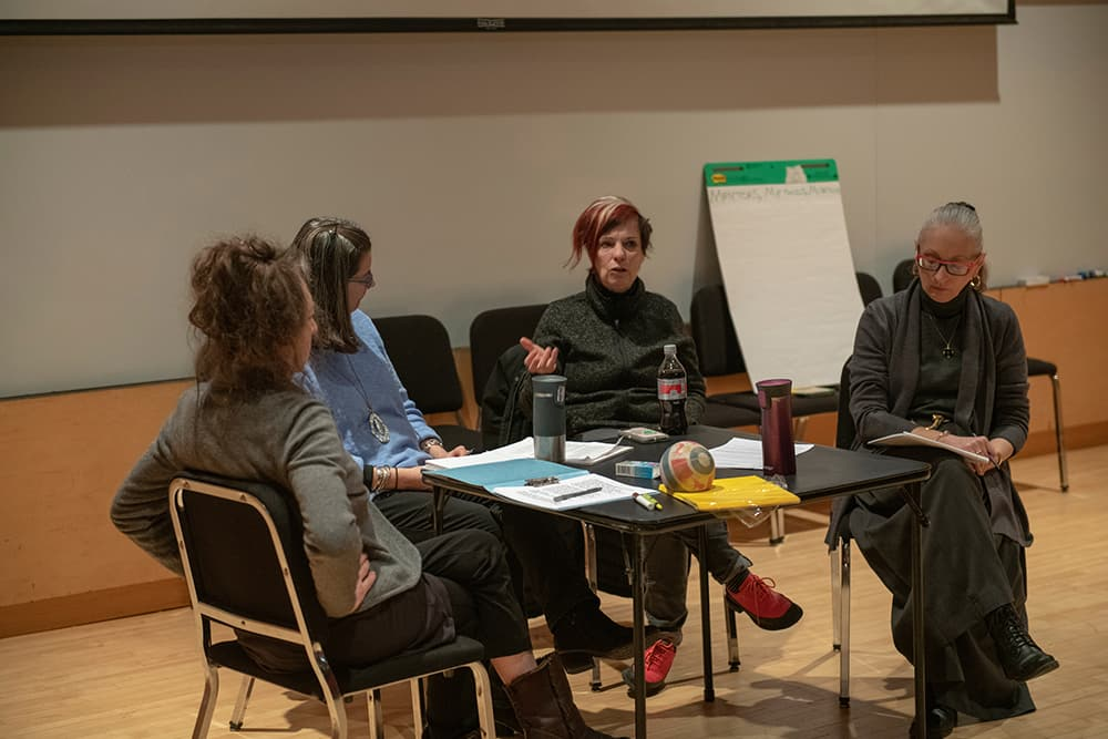 Photos from the Feminist Directions: Performance, Power, and Leadership Symposium, March 15–16, 2019. Credit: Rachel Philipson Photography.