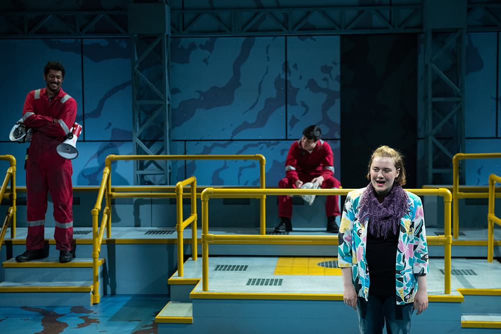 Photos from SPILL by Leigh Fondakowski, directed by Caitlin Kane, April 26–May 4, 2019. Credit: Rachel Philipson Photography.