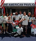 The American Pavilion at the Cannes Film Festival