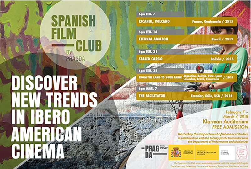 Spanish Film Club Sealed Cargo Bolivia2015 Performing And