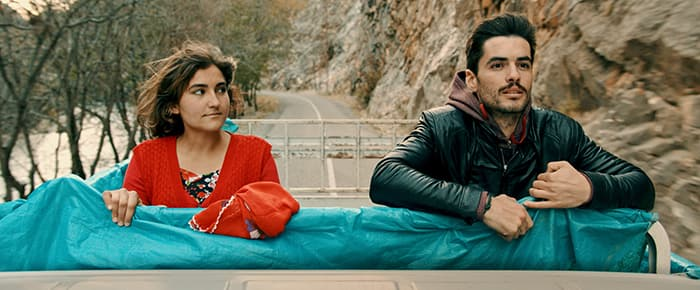 Actors in a Kurdish film